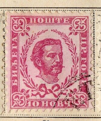 Montenegro 1898 Early Issue Fine Used 10h. 109901