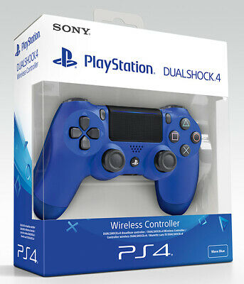 Playstation 4 PS4 Controller Wireless Dualshock 4 V2 Blue (2016) Sony