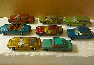 toy cars, old Matchbox toy cars, job lot