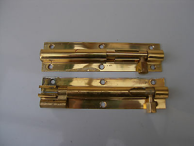 Solid Brass Knecked And Straight Door Bolts Quality.