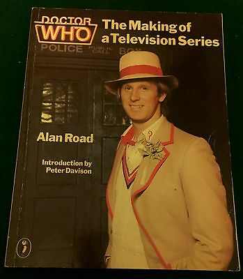 BOOK Doctor Who THE MAKING OF A TELEVISION SERIES by Alan Road Paperback 1983