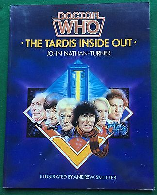 BOOK Doctor Who THE TARDIS INSIDE OUT by John Nathan-Turner 1st Edition PB 1985