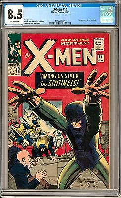 X-Men #14 CGC 8.5 (OW) 1st appearance of the Sentinels