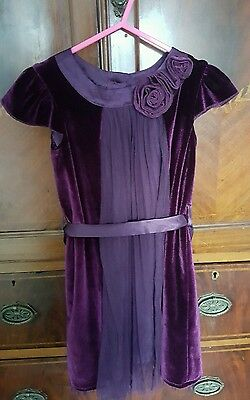 1.5 - 2 /18- 24 months Girls Purple Christmas Party Dress from Marks & Spencers