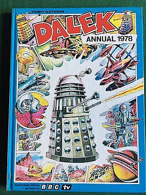 BOOK Terry Nation's Dalek Annual 1978 Doctor Who