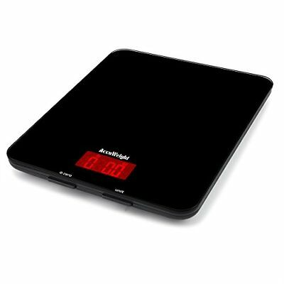 Accuweight Digital Multifunction Food Meat Scale with LCD Display Perfect for