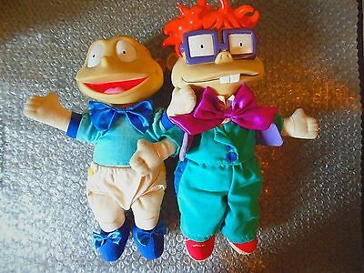 Rugrats In Paris The Movie Official Chuckie Doll & Tommy Pickes Doll