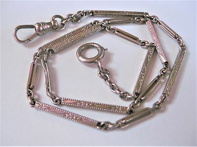 Antique Watch Chain White Gold 585, Rarity