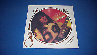 """ANTHRAX 'Limited Edition 12""""  INTERVIEW PICTURE DISC' UK 1987 - EXCELLENT!"""