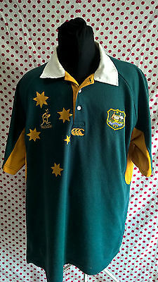 Rare Australia vintage rugby shirt from 90s.  Retro jersey. trikot. oldschool ma