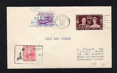Lundy: Violet Lacal First Day Cover