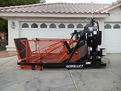 Speed-Lift 6000 Lb Cap Portable Loading Dock, Look And Runs Great!!