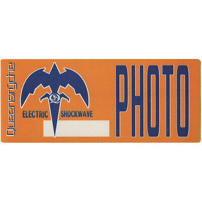 Queensryche authentic Photo 1999-2000 tour Backstage Pass
