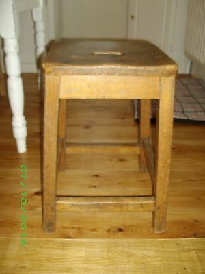 Antique Pine Stool