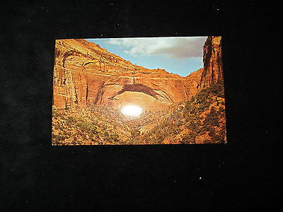 Utah  (The Great Arch)    Postcard        Switchback Road
