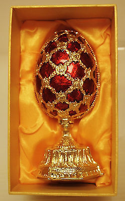 """Collectible Eggs Faberge Traditions * St. Petersburg''/'' Flowers In Easter Egg"""""""