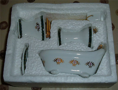 Dolls House Bathroom Set – Boxed and BRAND NEW
