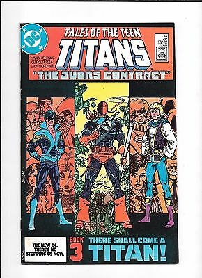 Tales Of The Teen Titans #44 ==  Vf/nm- 1St Appearance Of Nightwing 1984