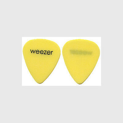 Weezer Brian Bell authentic 2001 tour Guitar Pick