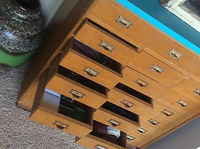 Industrial Vintage Rustic Retro Drawers Chest Cabinet