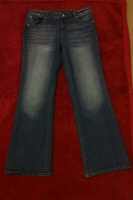 Girls size 14 1/2 jeans by Justice bootcut