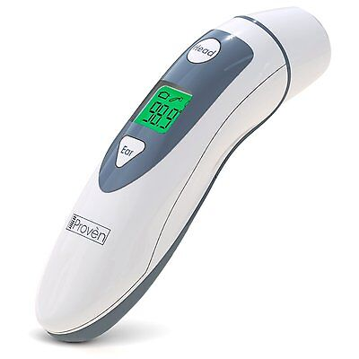 Medical Forehead Ear Thermometer - iProvèn DMT-489 Revolutionized Technology