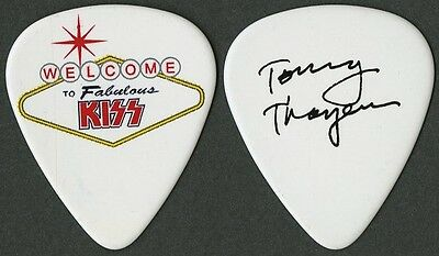 KISS Tommy Thayer authentic November 2014 tour Guitar Pick