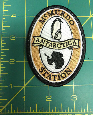 McMurdo Station Antarctica Embroidered Patch , we ship worldwide! New Unused