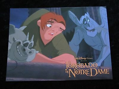 Walt Disney's THE HUNCHBACK OF NOTRE DAME  lobby card  #4