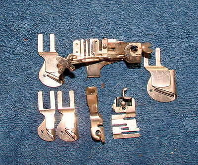 LOT OF MISCELLANEOUS VINTAGE SEWING MACHINE Presser Feet