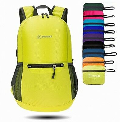 ZOMAKE Ultra Lightweight Packable Backpack Hiking Daypack, Handy Foldable Small