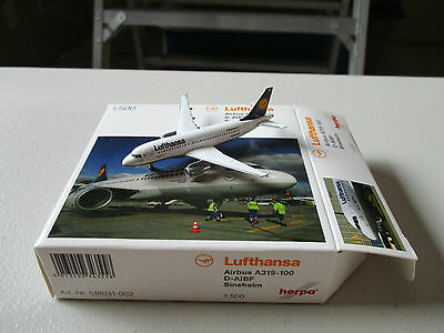 Herpa Wings  518031-002   Lufthansa A319-100  Version 2