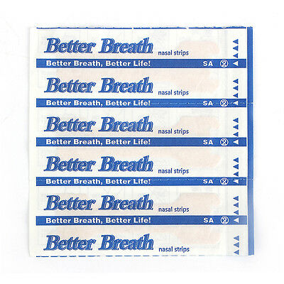 New NASAL STRIPS Breathe Better Sleeping Reduce  Snoring Now Anti-Snoring Patch