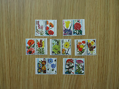 Stamps  Guinea Ecuatorial  7 X 2  Flower Stamps