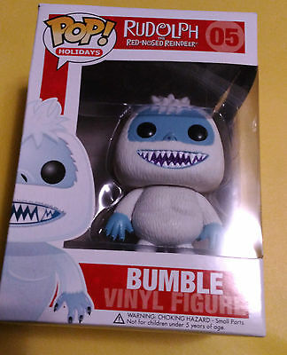 FUNKO POP BUMBLE #05 Rudolf The Red Nosed Reindeer Vinyl Figure Holidays