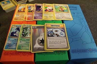 Pokemon Evolutions 63x Mixed standard Cards.No doubles