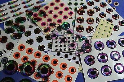 3d epoxy eyes 250+ realistic for fly tying pike saltwater flies