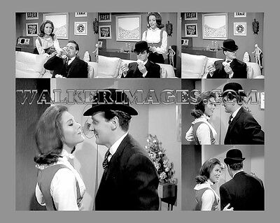 142 The Avengers John Steed Mrs Emma Peel Collage Photo Print
