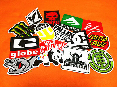 10 SKATE Sticker Decal Vinyl Car Tablet Snow Surf Laptop Guitar Scooter