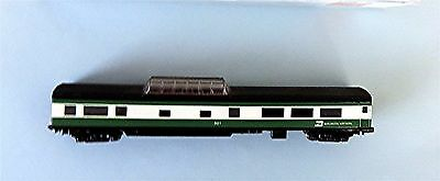 N Scale CON-COR Dome Car, Burlington Northern