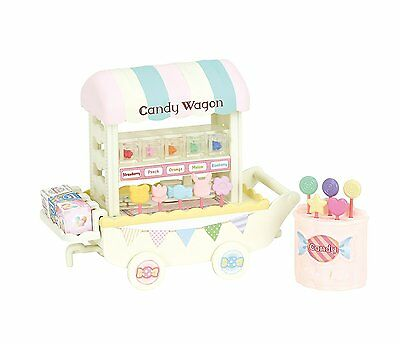 Calico Critters Sylvanian Families CANDY WAGON Epoch