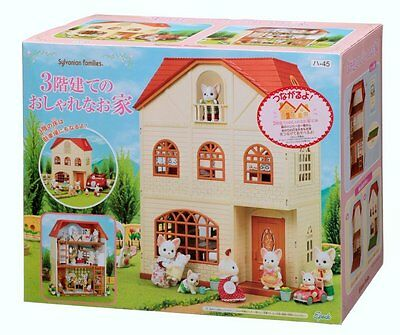 Calico Critters Sylvanian Families 3 STORY STYLISH HOUSE Epoch Japan
