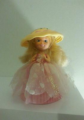 Cupcake Doll Sprinkle Taffy Tammy, 1990 toy, with hat.