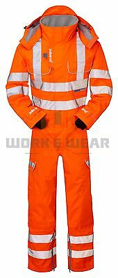 Pulsarail PR505 Hi Vis GO/RT Foul Weather Coverall S-3XL