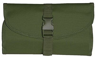 Mil-Tec British Military Foldable Toiletry Bag With Hanging Hook and Mirror