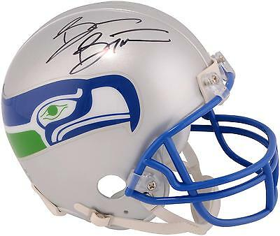 Brian Bosworth Seattle Seahawks Autographed Riddell Throwback Mini Helmet