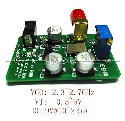 dc 6-12v 2.4G VCO voltage control signal source / Sweep WIFI Bluetooth Test