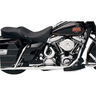 Bassani Power Curve True Dual Crossover Head Pipes Chrome Harley FLHS 1985-1993