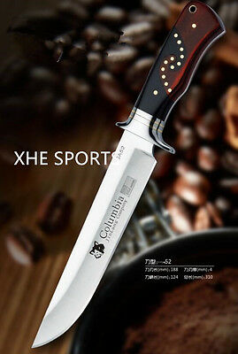 JL 052 Full Tang Survival Military Bowie Camping Tactical Pig Sticker knife