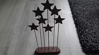 Willow Tree bronze coloured  Metal Star backdrop for nativity set